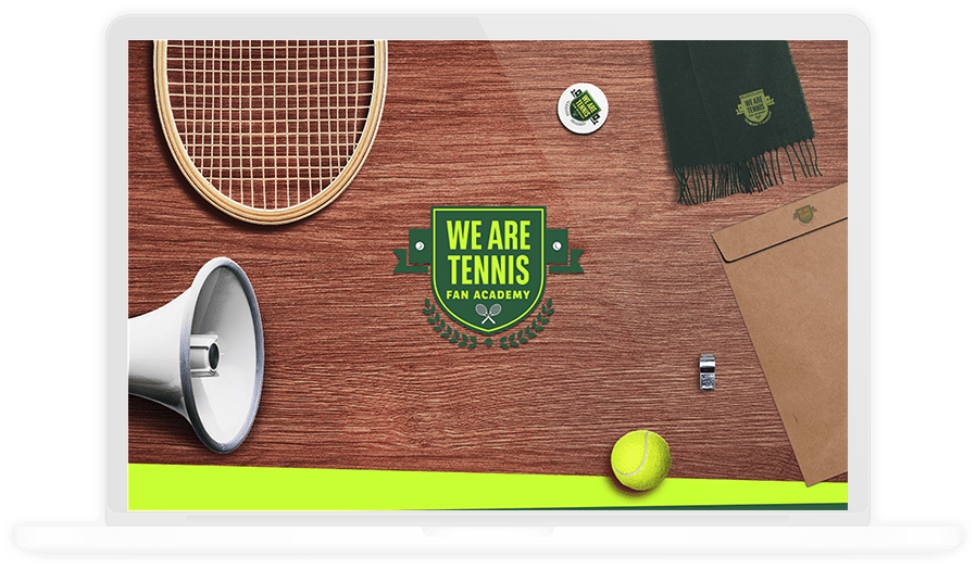WE ARE TENNIS FAN ACADEMY